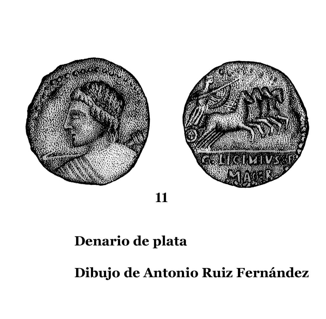 11DENARIOS DE PLATA, DIBUJOS 11
