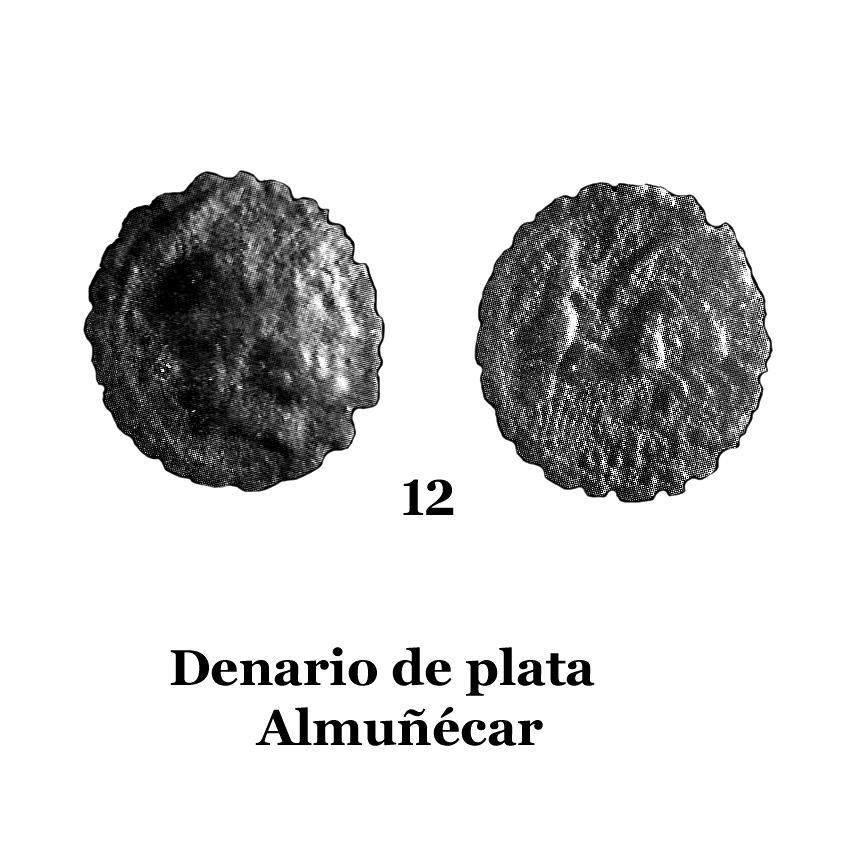 12Denario de plata de Almuñécar 12