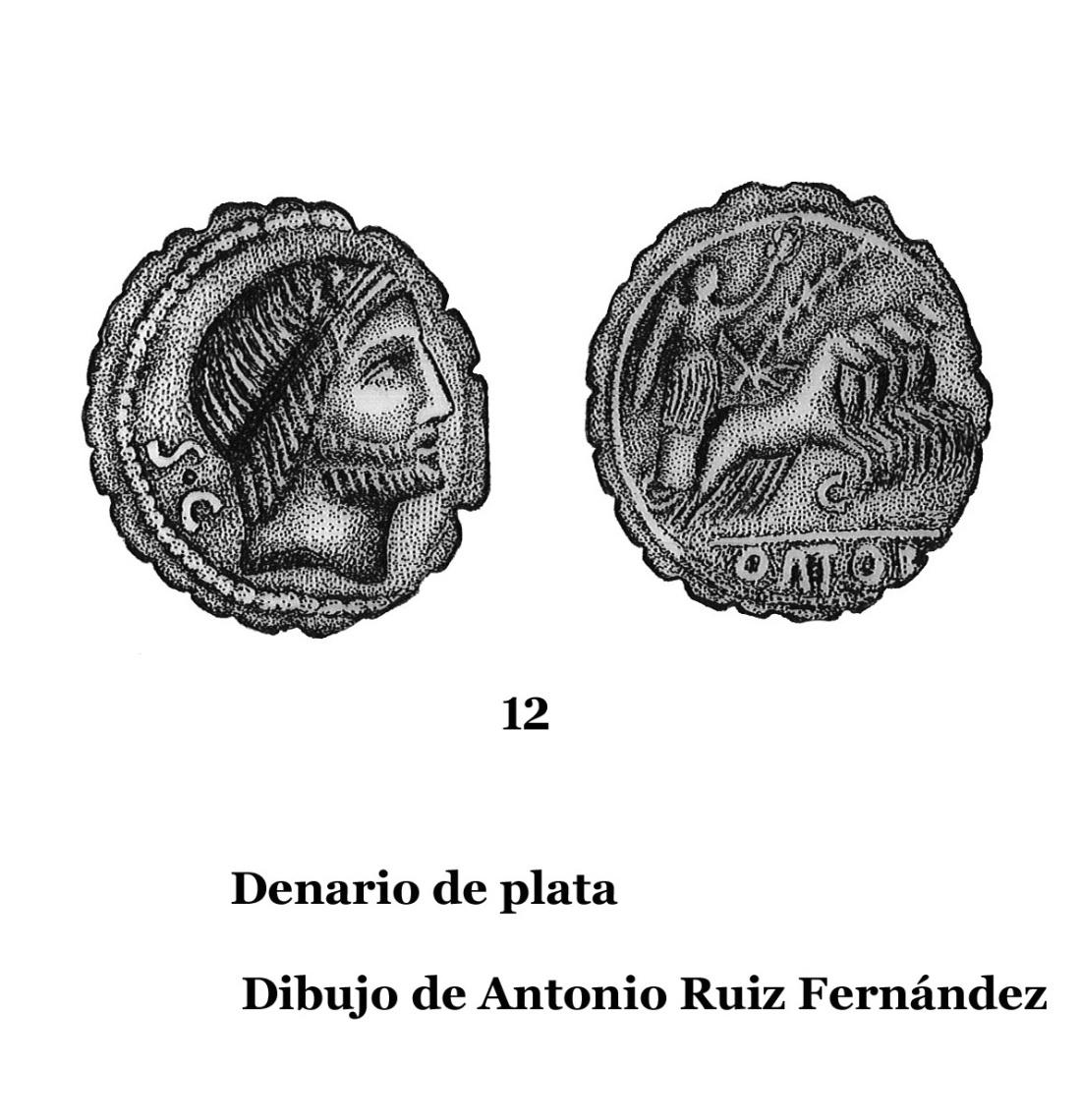 12DENARIOS DE PLATA, DIBUJOS 12
