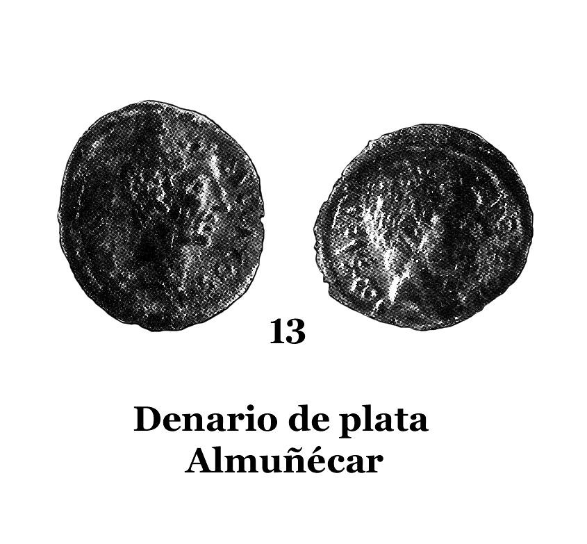 13Denario de plata de Almuñécar 13