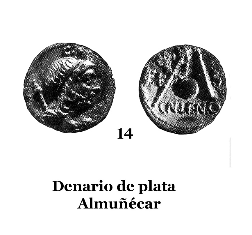 14Denario de plata de Almuñécar 14