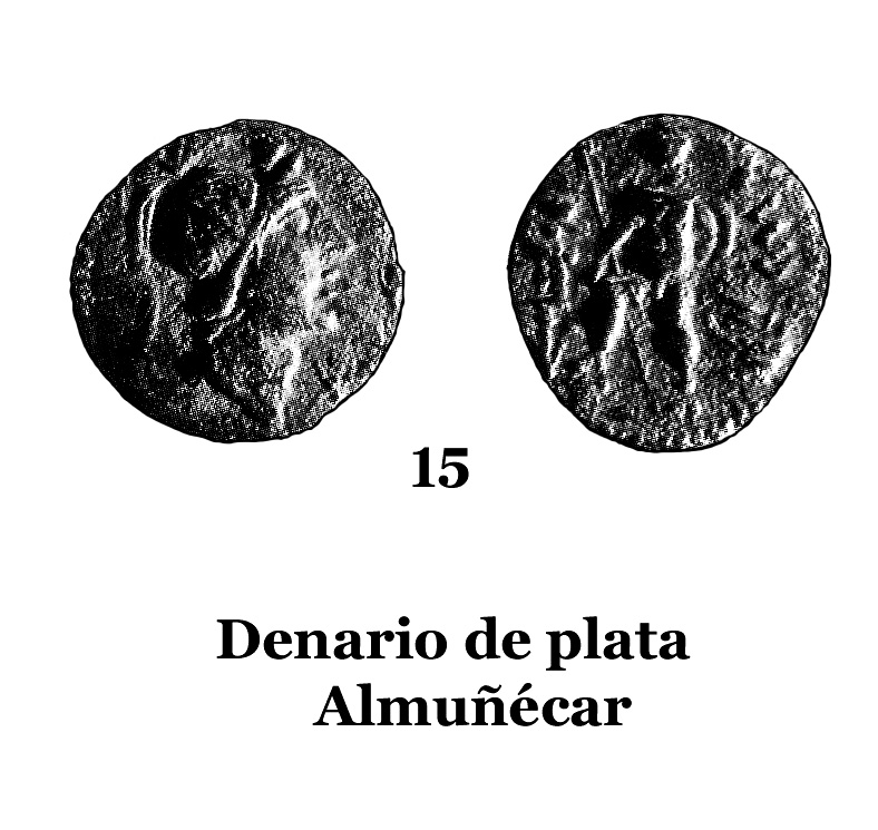 15Denario de plata de almuñécar 15