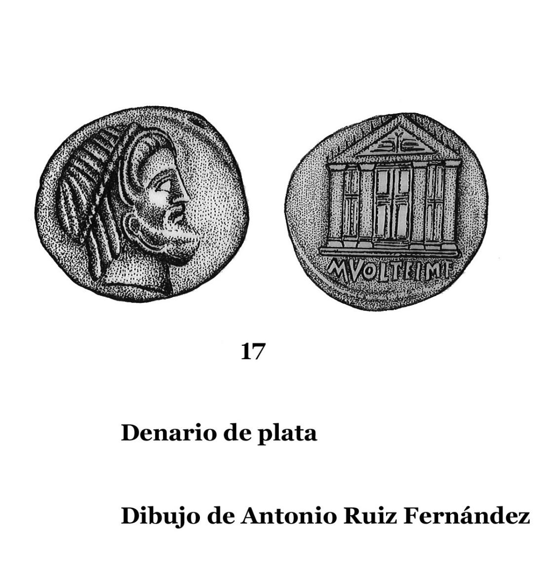 17DENARIOS DE PLATA, DIBUJOS 17