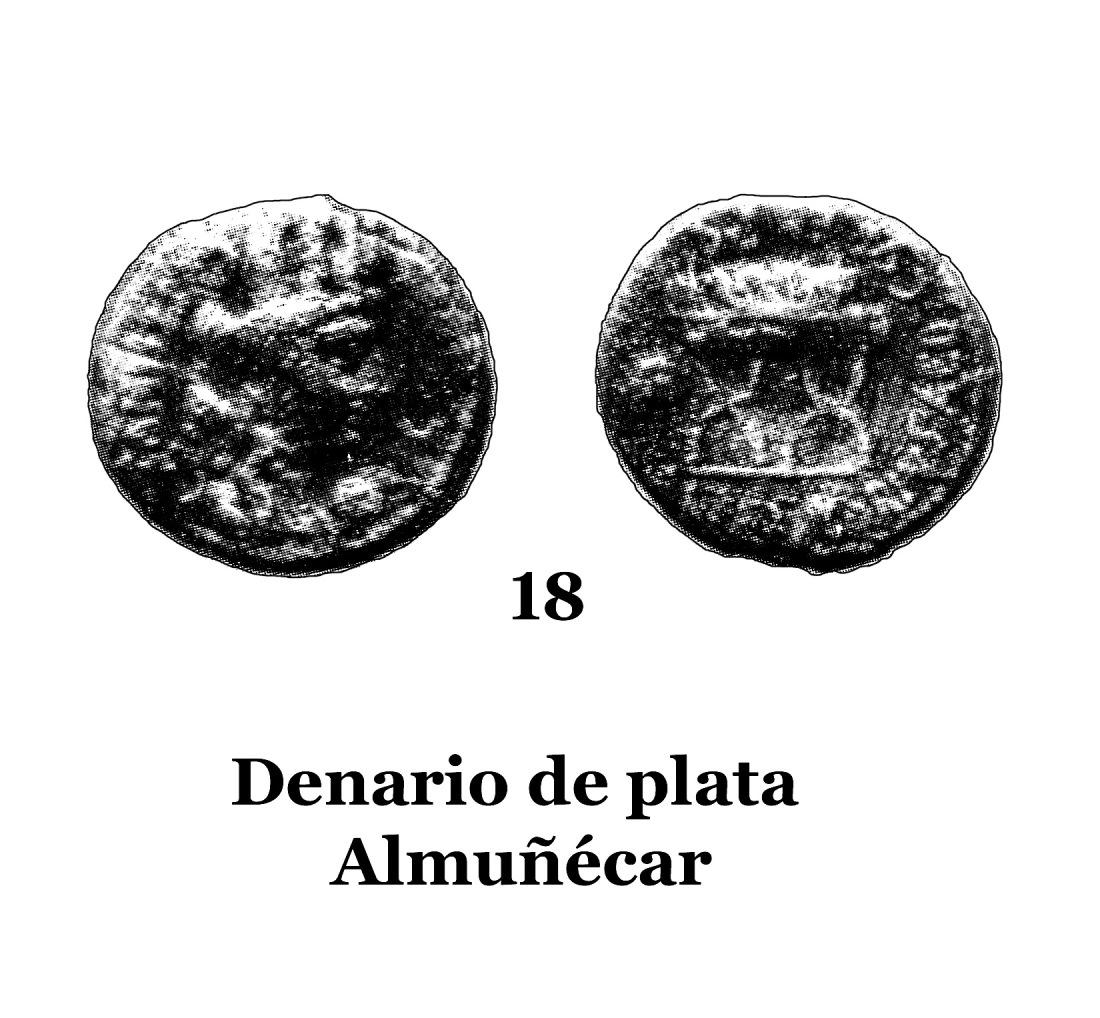 18Denario de plata de Almuñécar 18