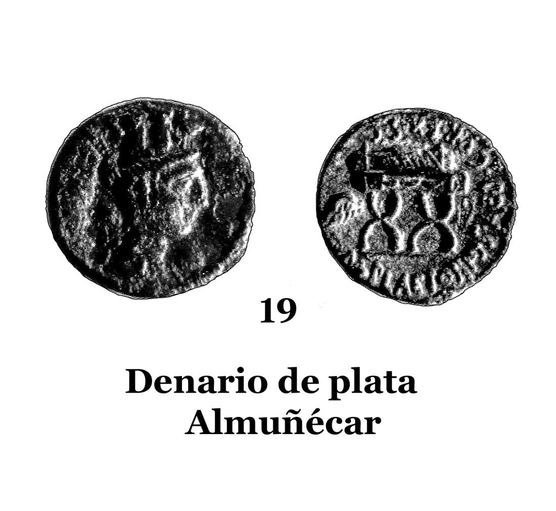 19Denario de plata de Almuñécar 19