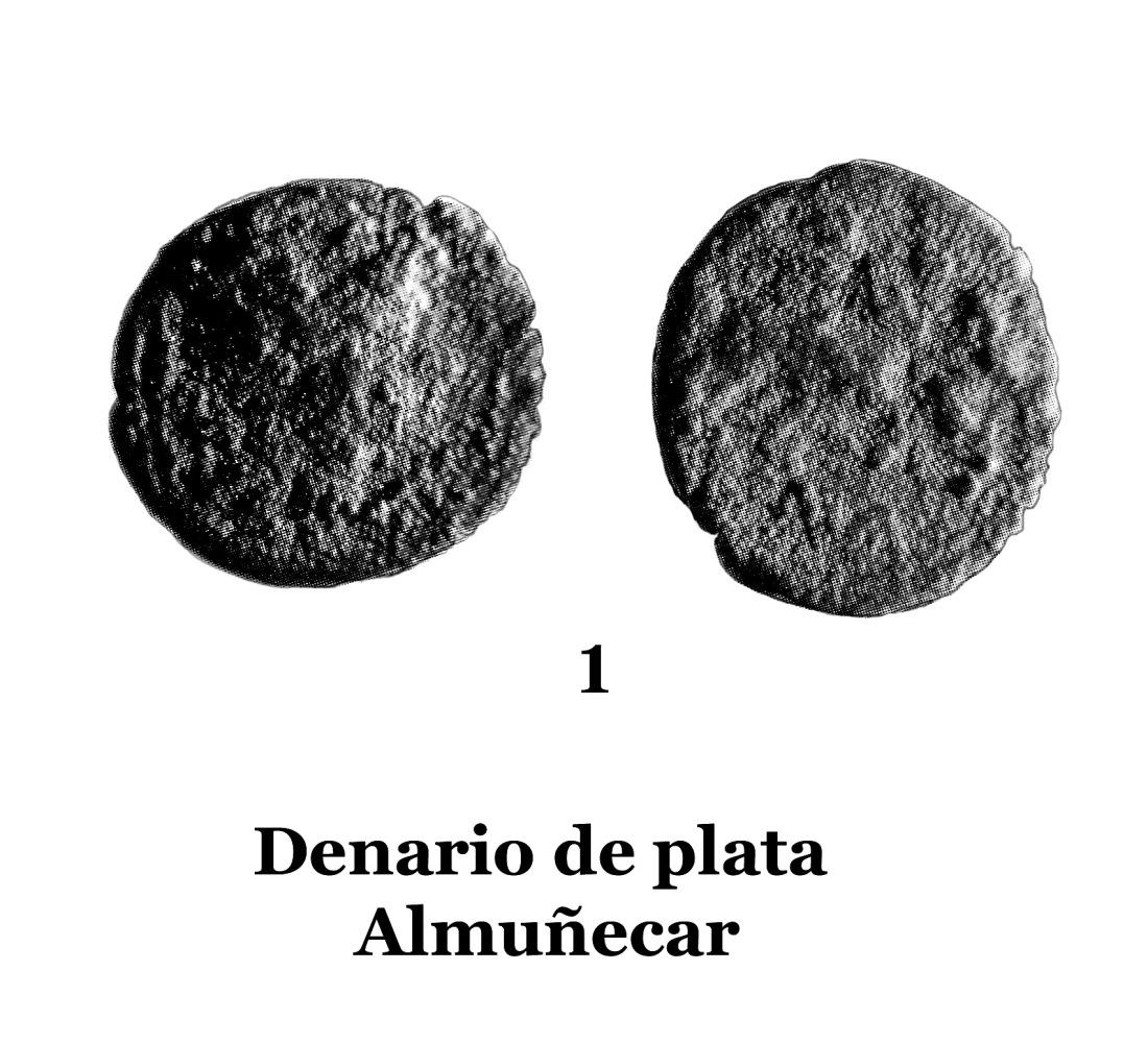 1Denario de plata de Almuñécar 1