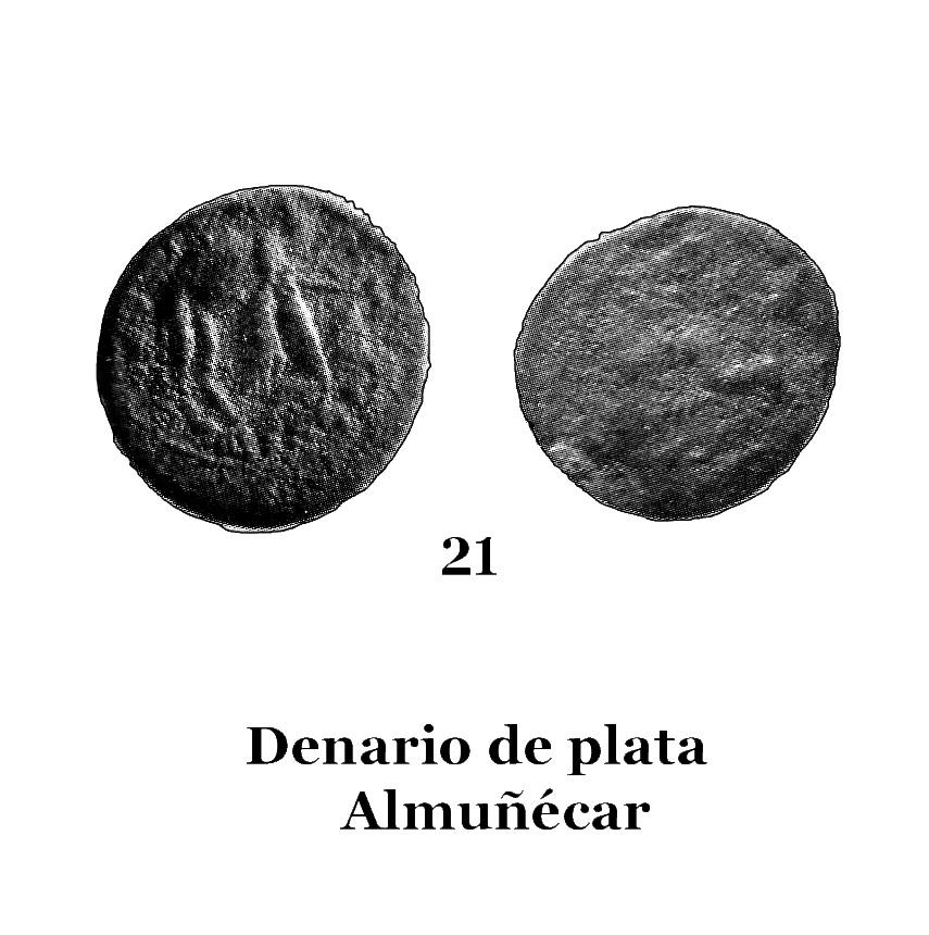 21Denario de plata de Almuñécar 21