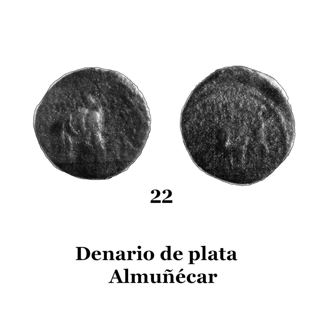 22Denario de plara de Almuñécar 22