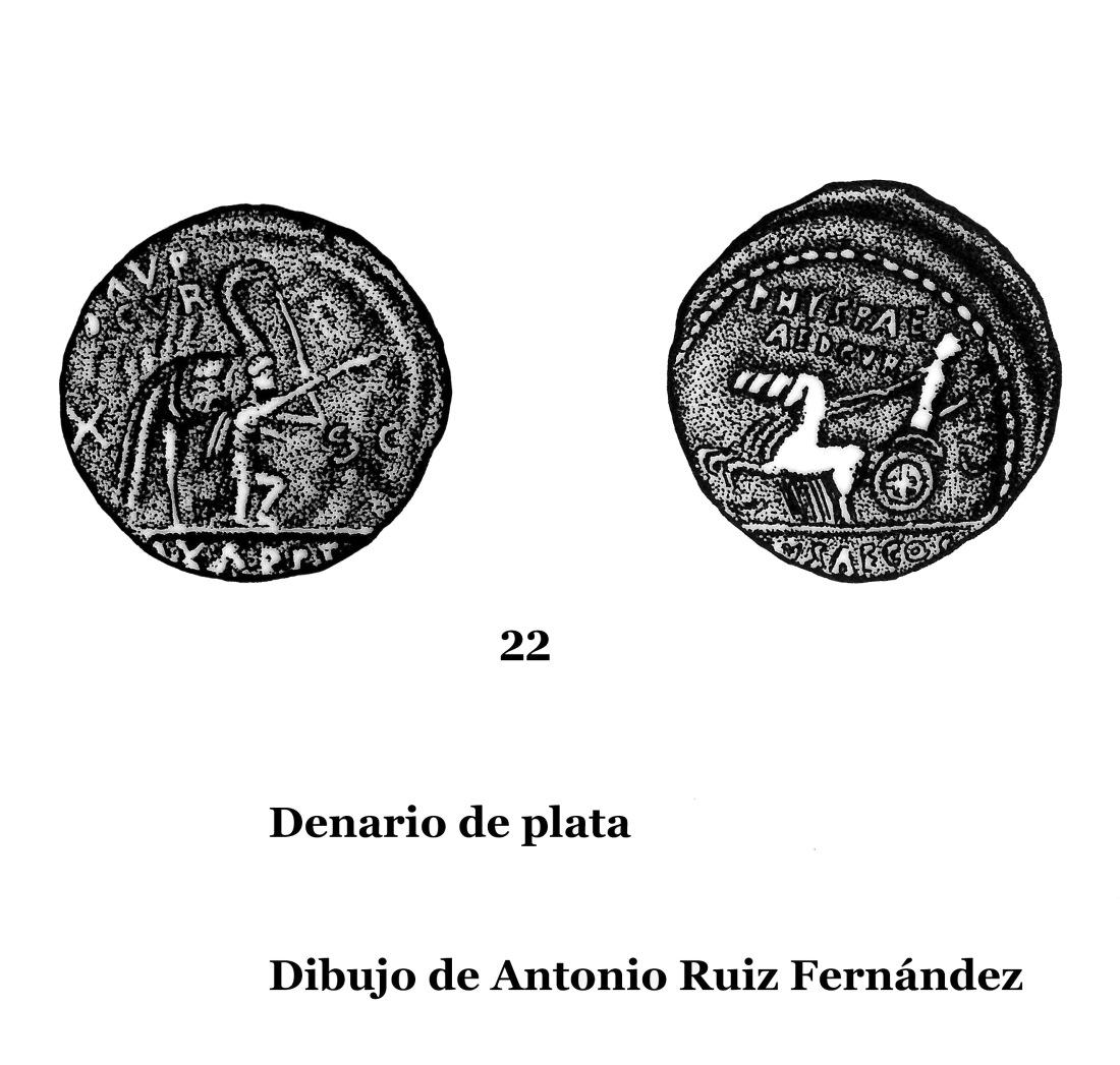 22Denarios de plata 22 Dibujos copia