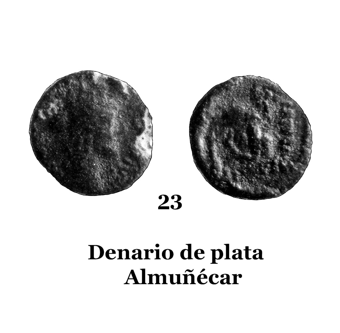 23Denario de plata de Almuñécar 23