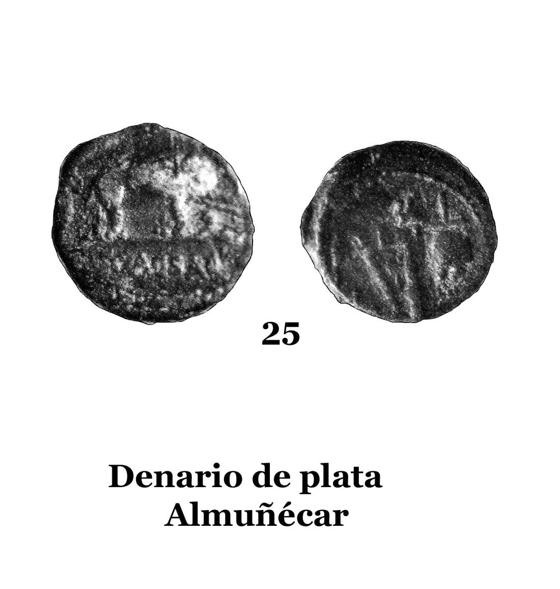 25Denario de plata de Almuñécar 25