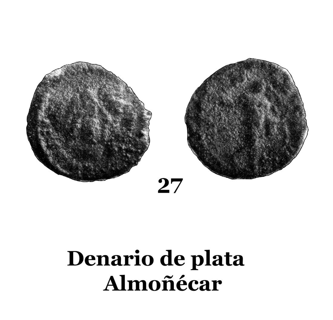 27Denario de plata de Almuñécar 27