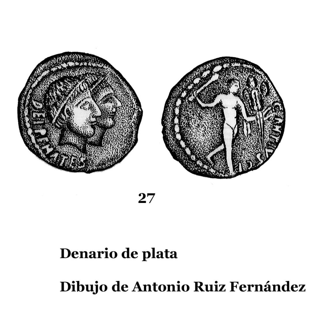27DENARIOS DE PLATA, DIBUJOS 27