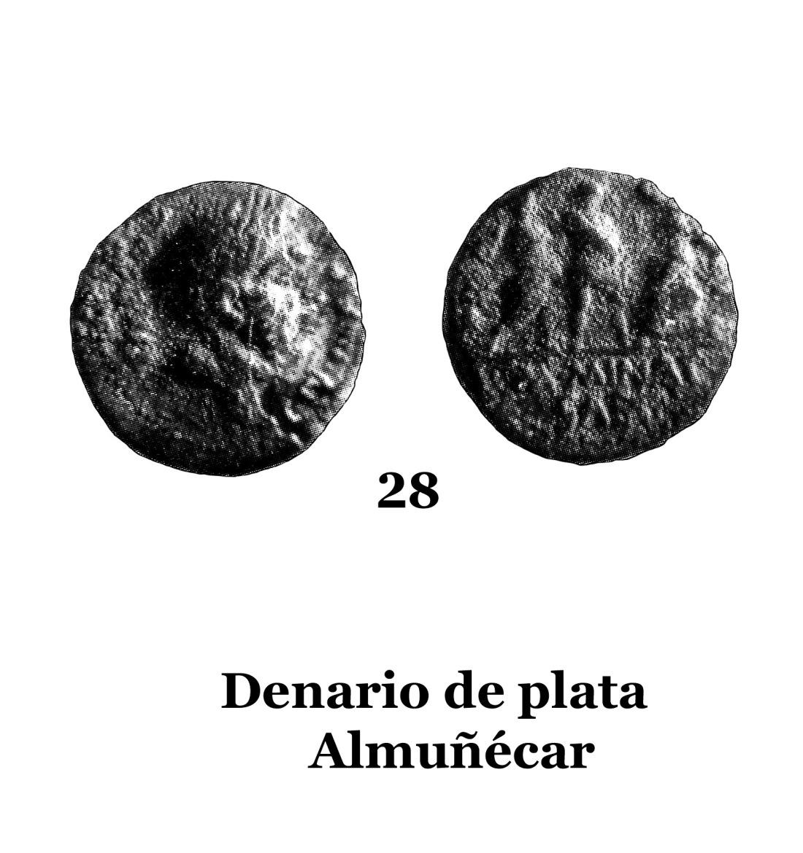 28Denario de plata de Almuñécar 28