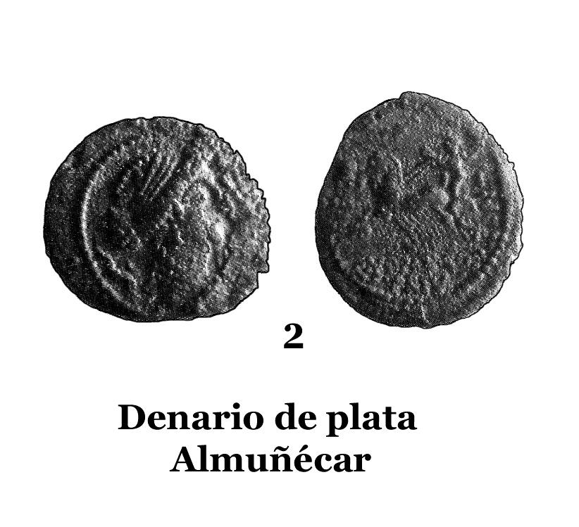 2Denario de plata de Almuécar