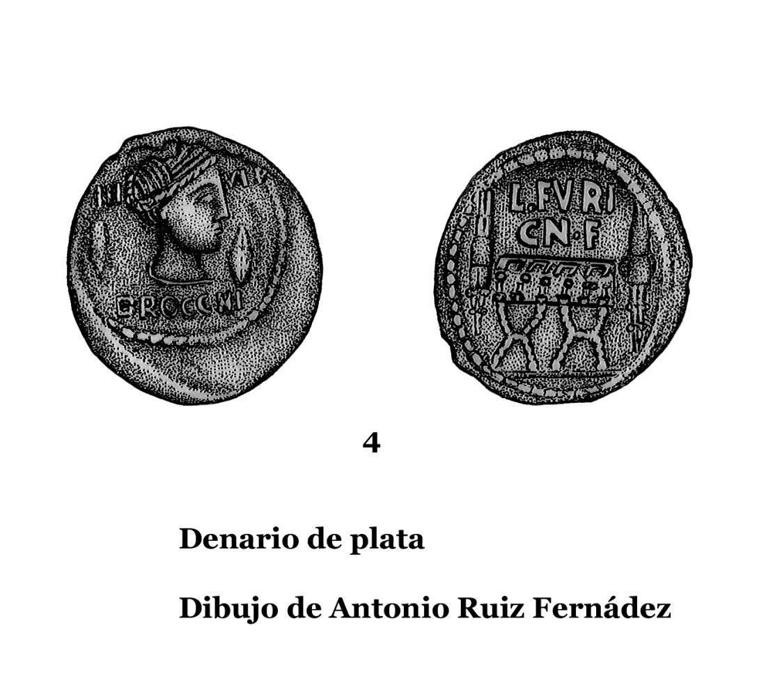4DENARIOS DE PLATA, DIBUJOS 4
