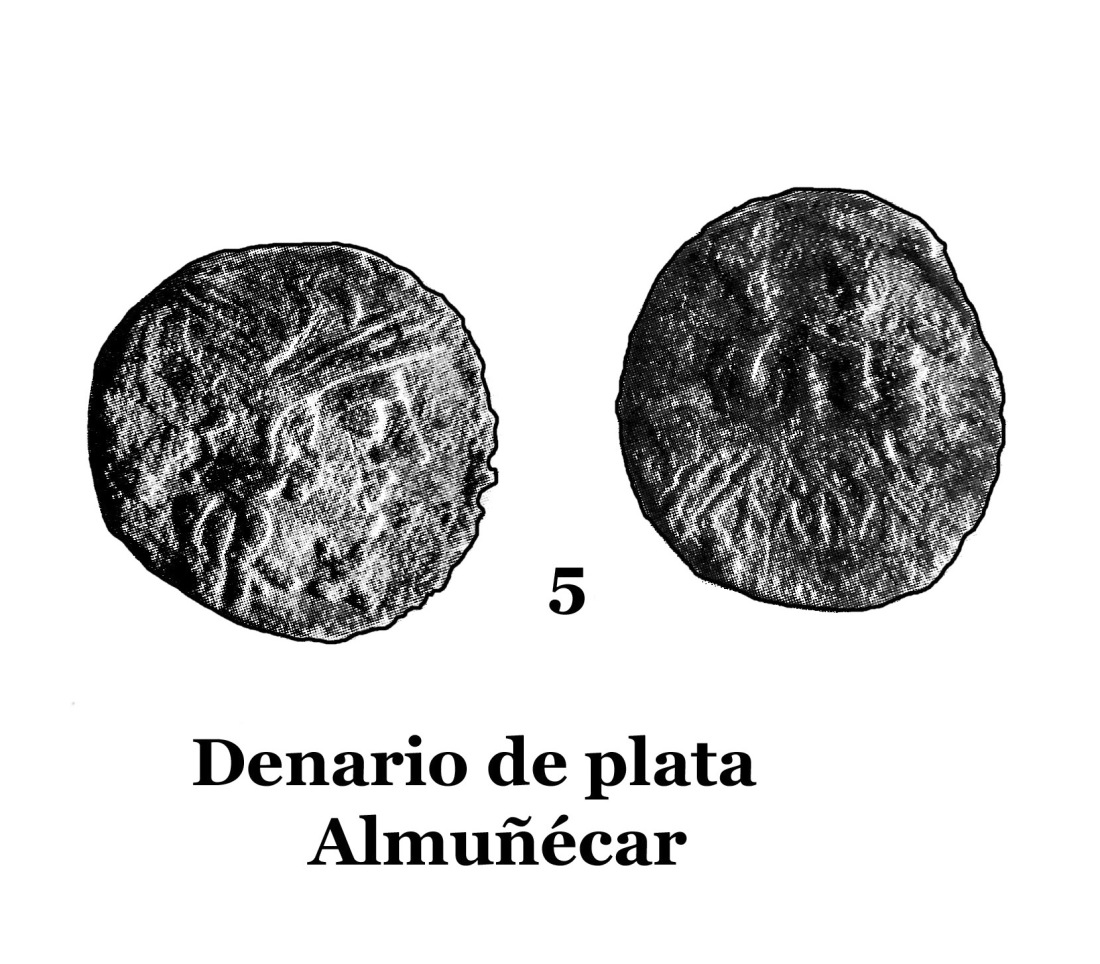 5Denario de plata de Almuñécar 5