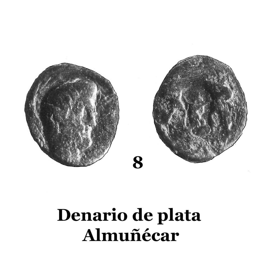 8Denario de plata de Almuñécar 8