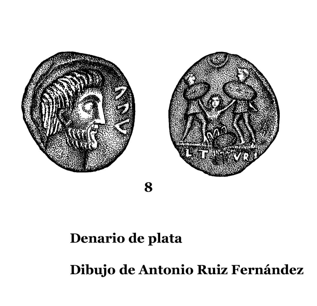 8DENARIOS DE PLATA, DIBUJOS 8