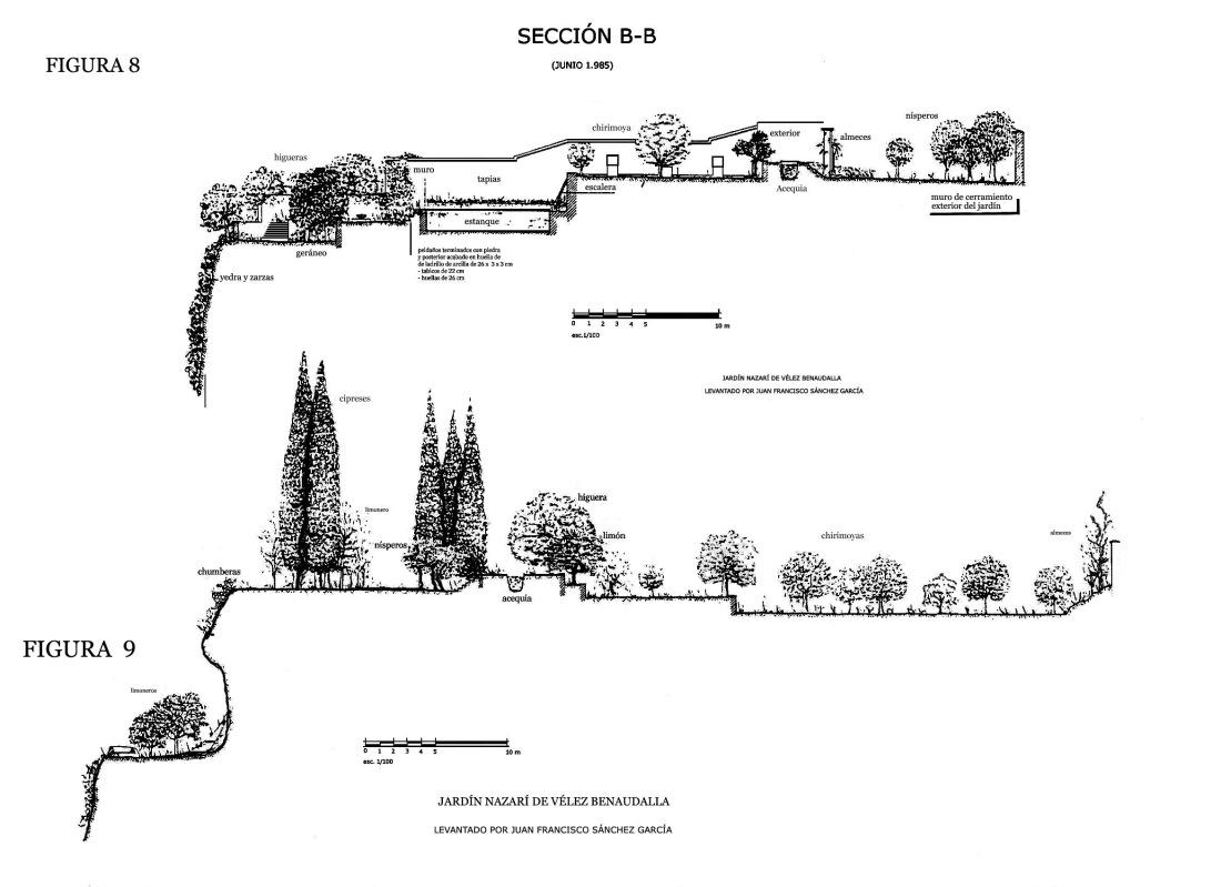 8 9VÉLEZ BENAUDALLA PLANOS Figura 8 y 9 listo 1 SECCIÓN B B PRIMERA IMAGEN copia